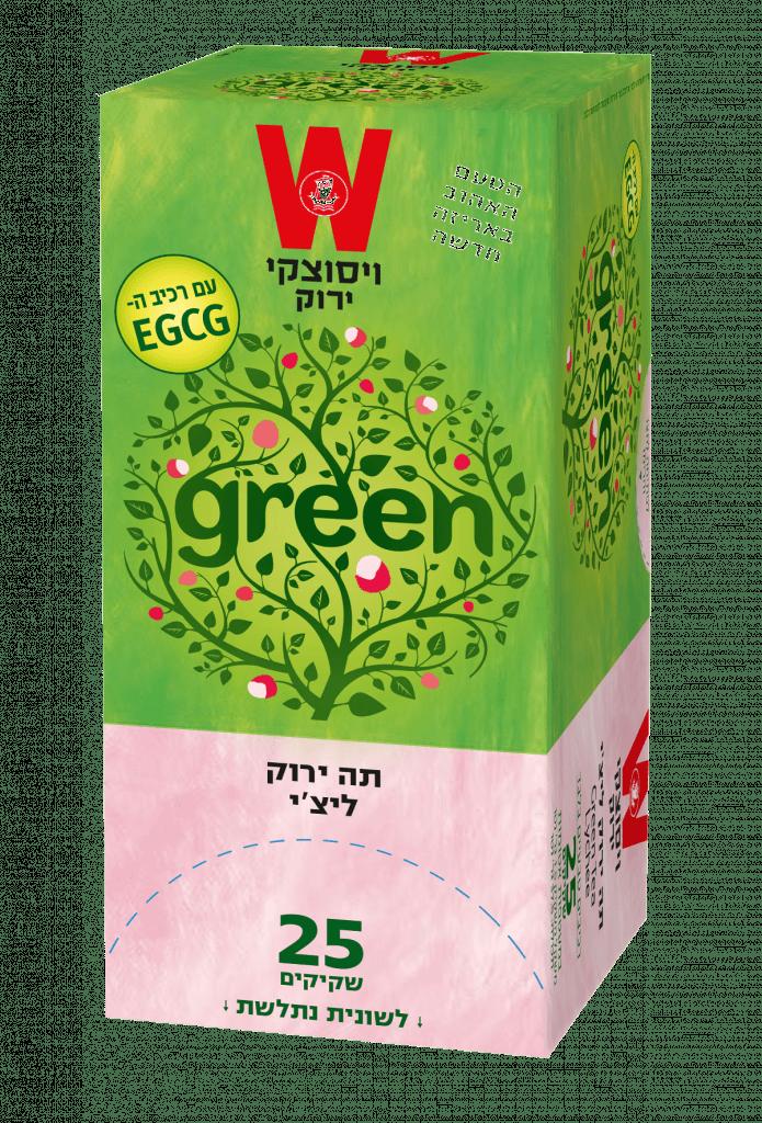 תה ירוק ליצ׳י