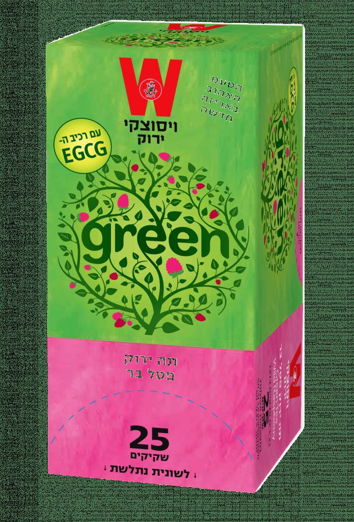 תה ירוק פטל
