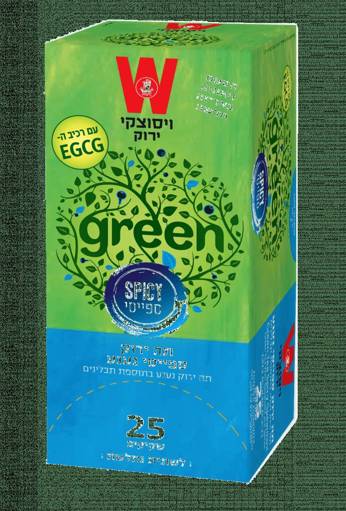 תה ירוק ספייסי נענע