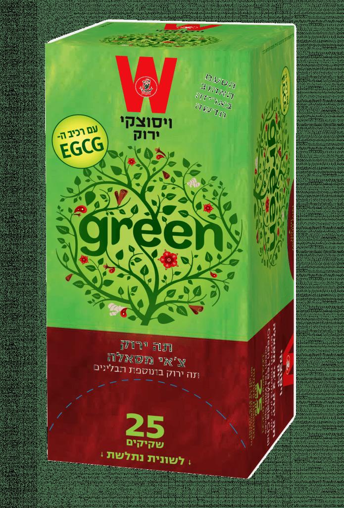 תה ירוק צ'אי מסאלה