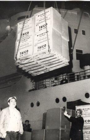 העמסת תה על אונייה