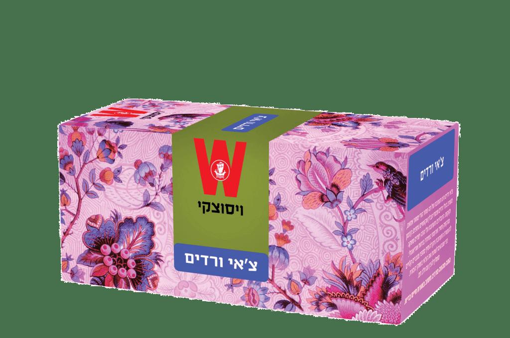 צ'אי ורדים מסדרת הצ'אי של ויסוצקי