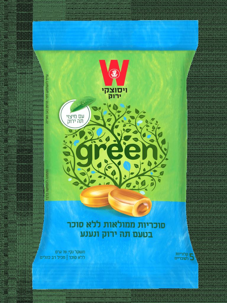 סוכריות תה ירוק נענע