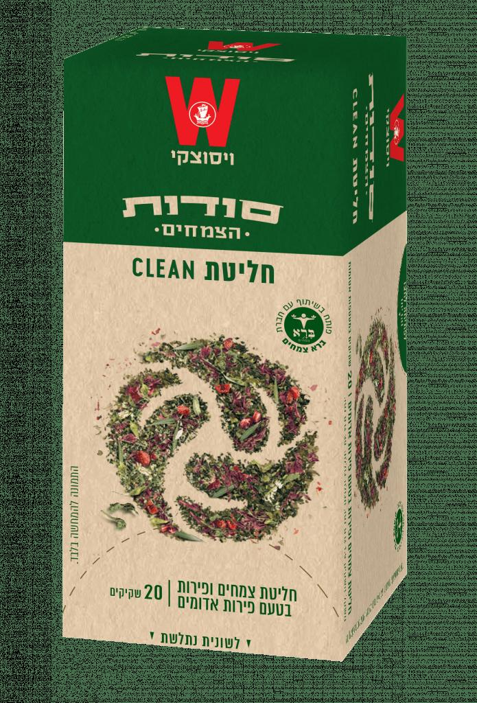 חליטת Clean סודות הצמחים