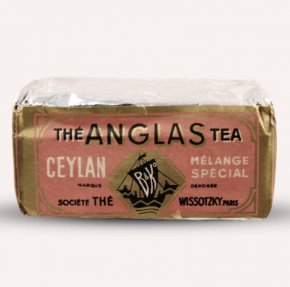 קופסת תה ויסוצקי מצרפת בעבר